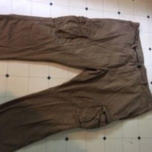MENS OLD NAVY BROKEN IN CARGO PANTS  Size 46/30